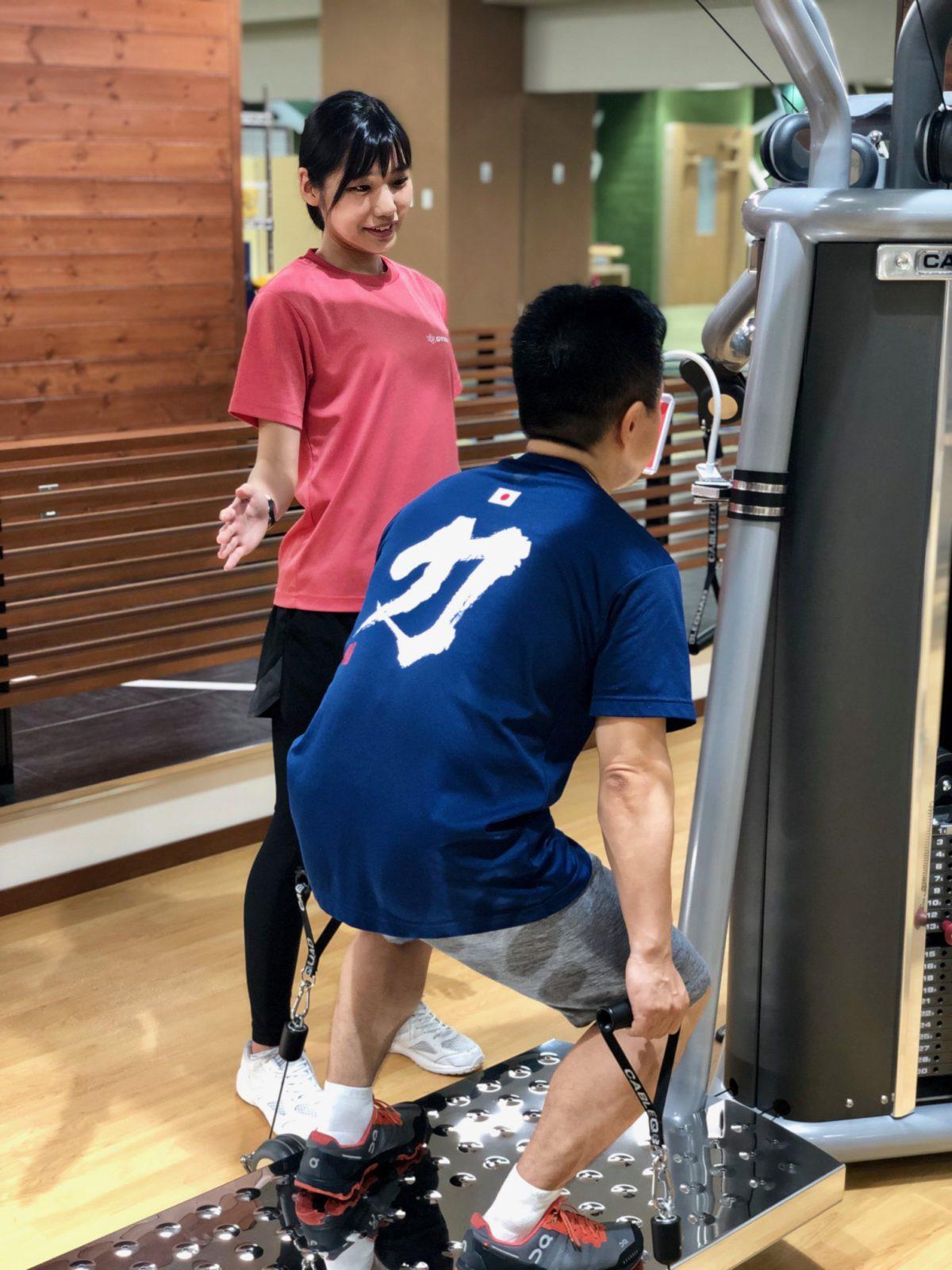 「腰痛対策のリハビリからトレーニングマニアに」