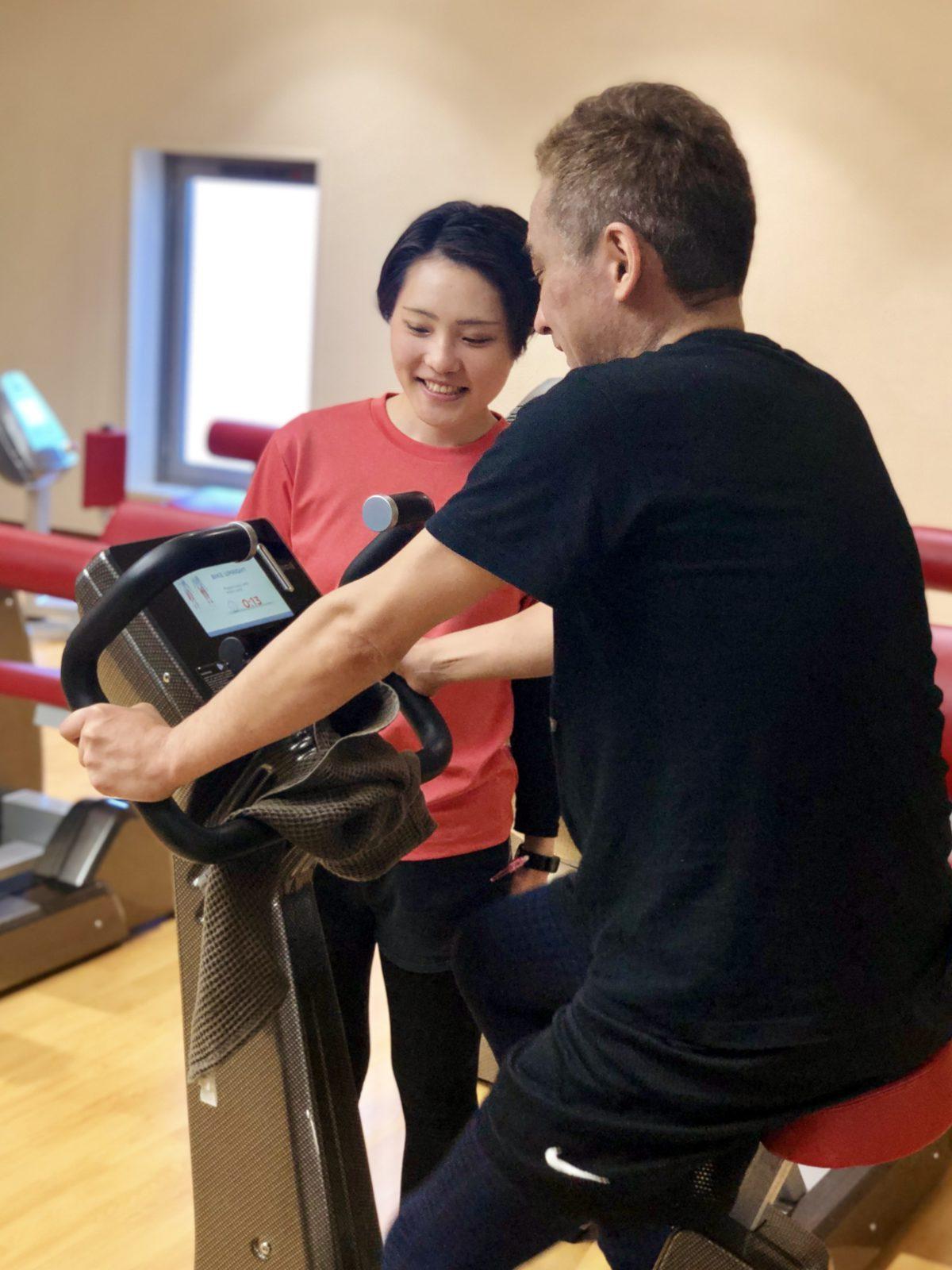 「運動習慣が身について健康的に」